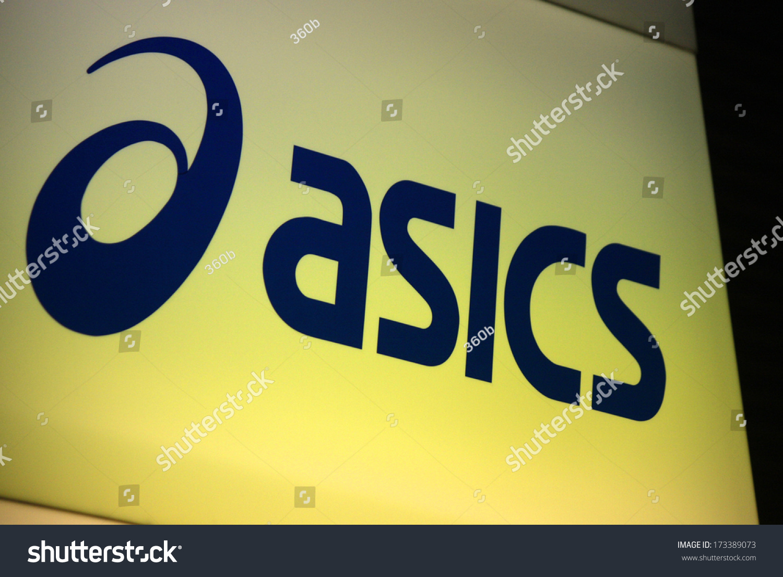 December 2013 berlin logo brand asics stock photo 173389073 december 2013 berlin the logo of the brand asics buycottarizona Images