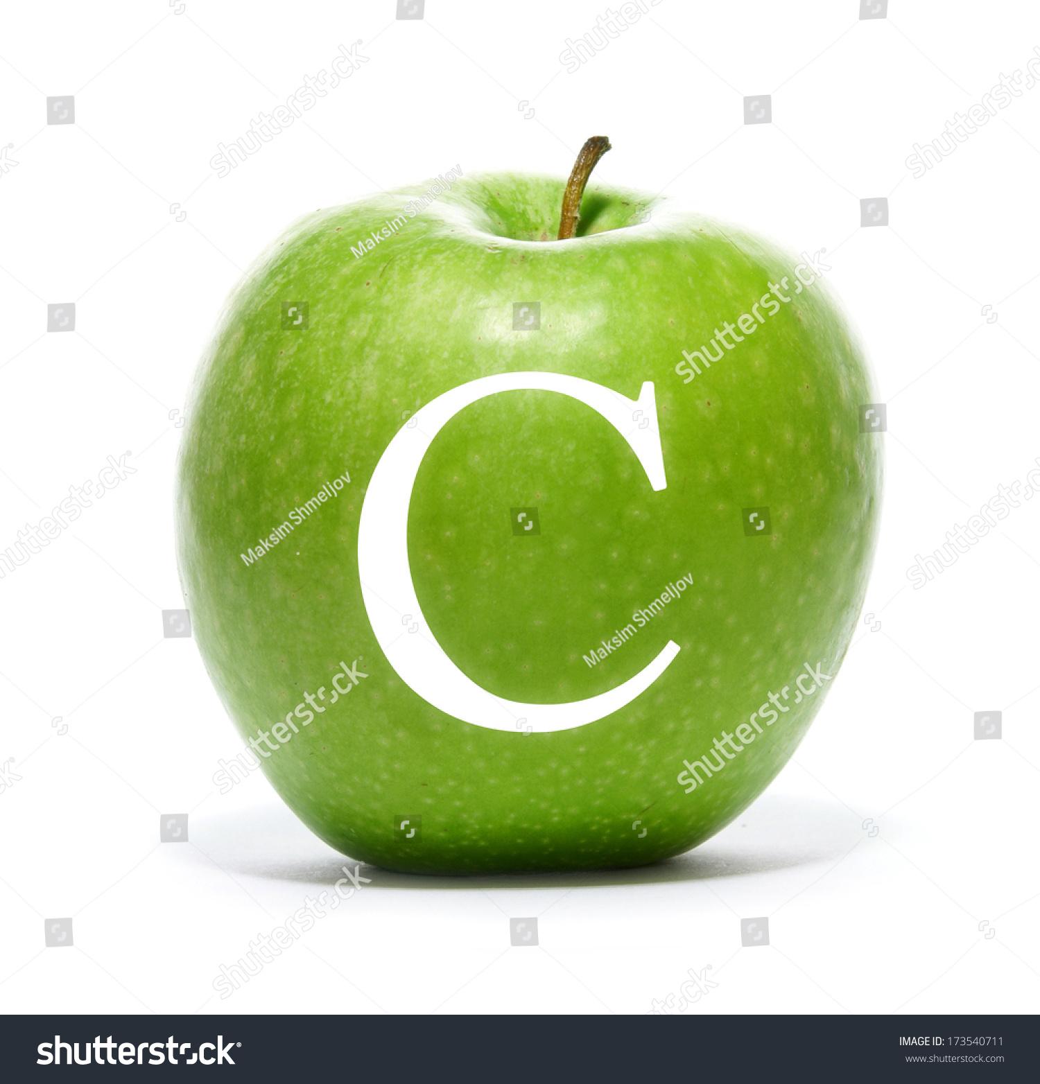 Green Fresh Tasty Apple Vitamin C Stock Photo Edit Now 173540711