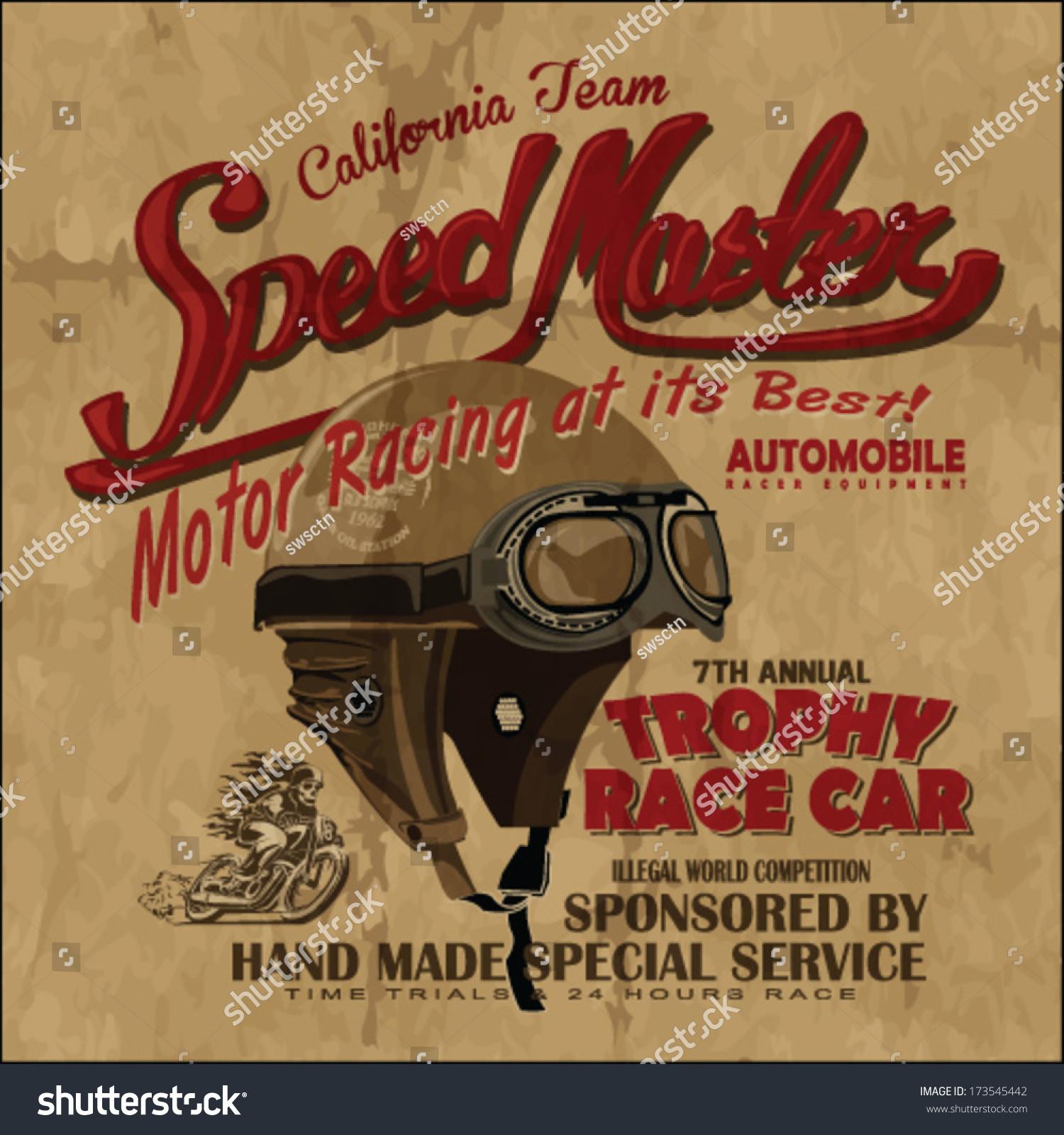 Vintage Racing Art 39