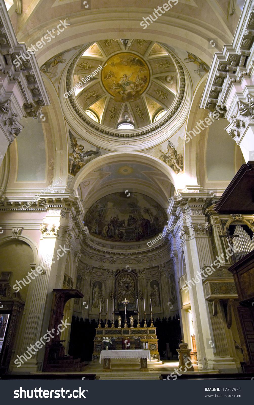 Cagli (Pesaro Urbino, Marche, Italy) - Interior Of The ...