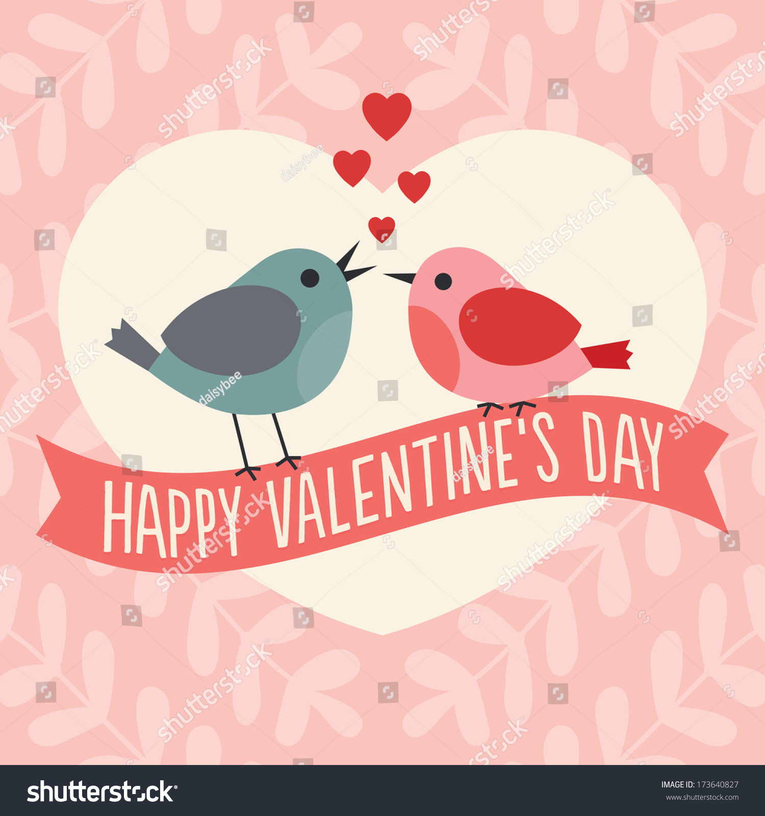 cute happy valentines day