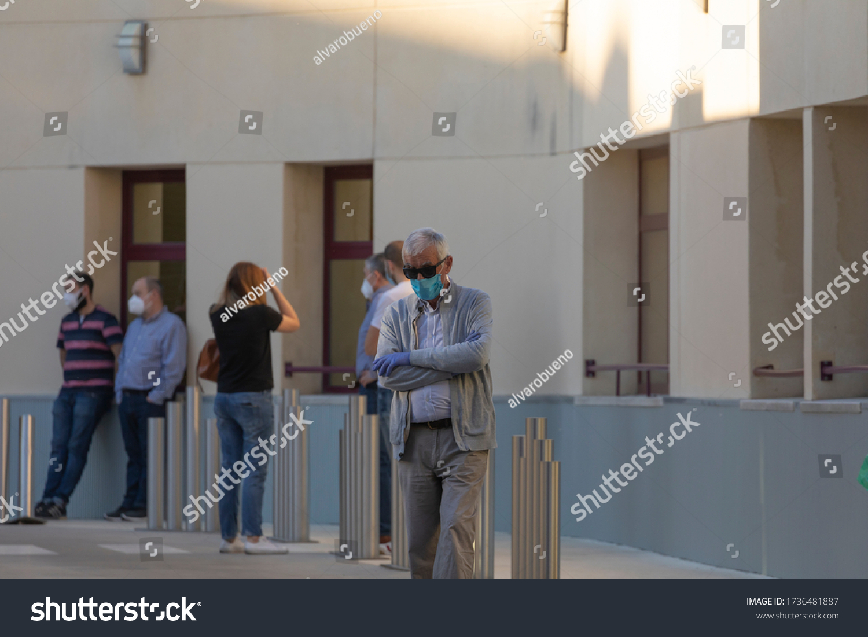 stock-photo-madrid-spain-may-people-wait