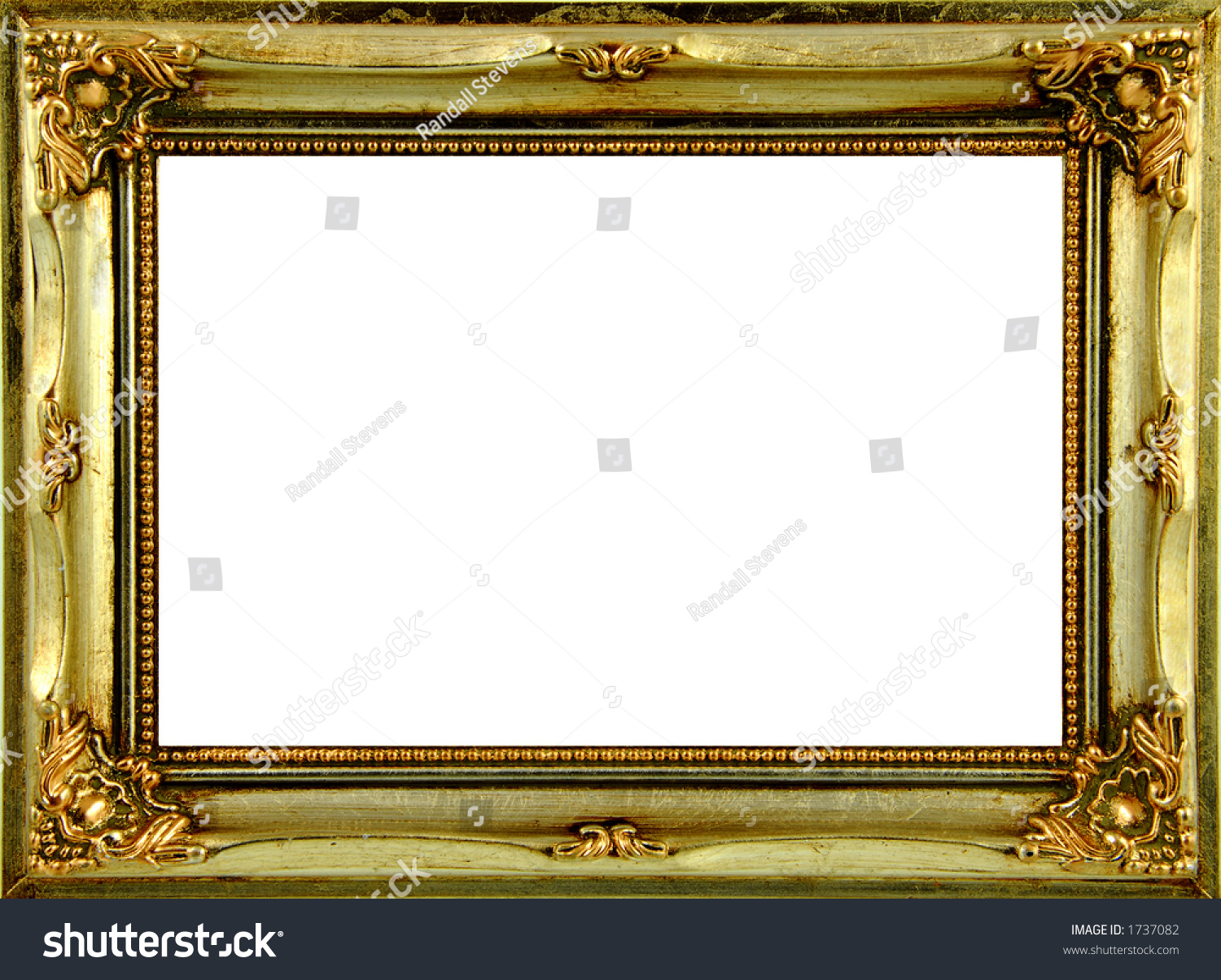 Gold Ornate Frame Stock Photo (Royalty Free) 1737082 - Shutterstock