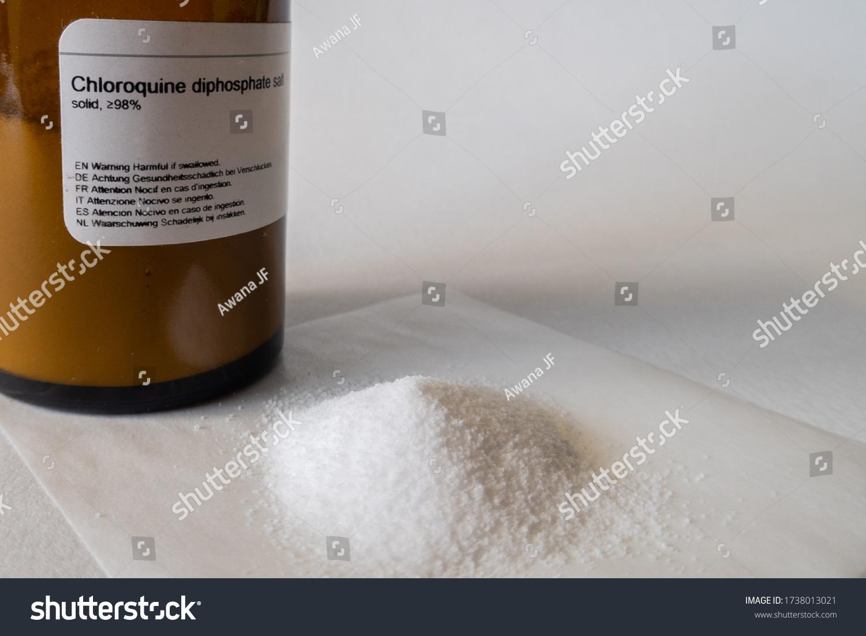 stock-photo-chloroquine-powder-in-a-chem