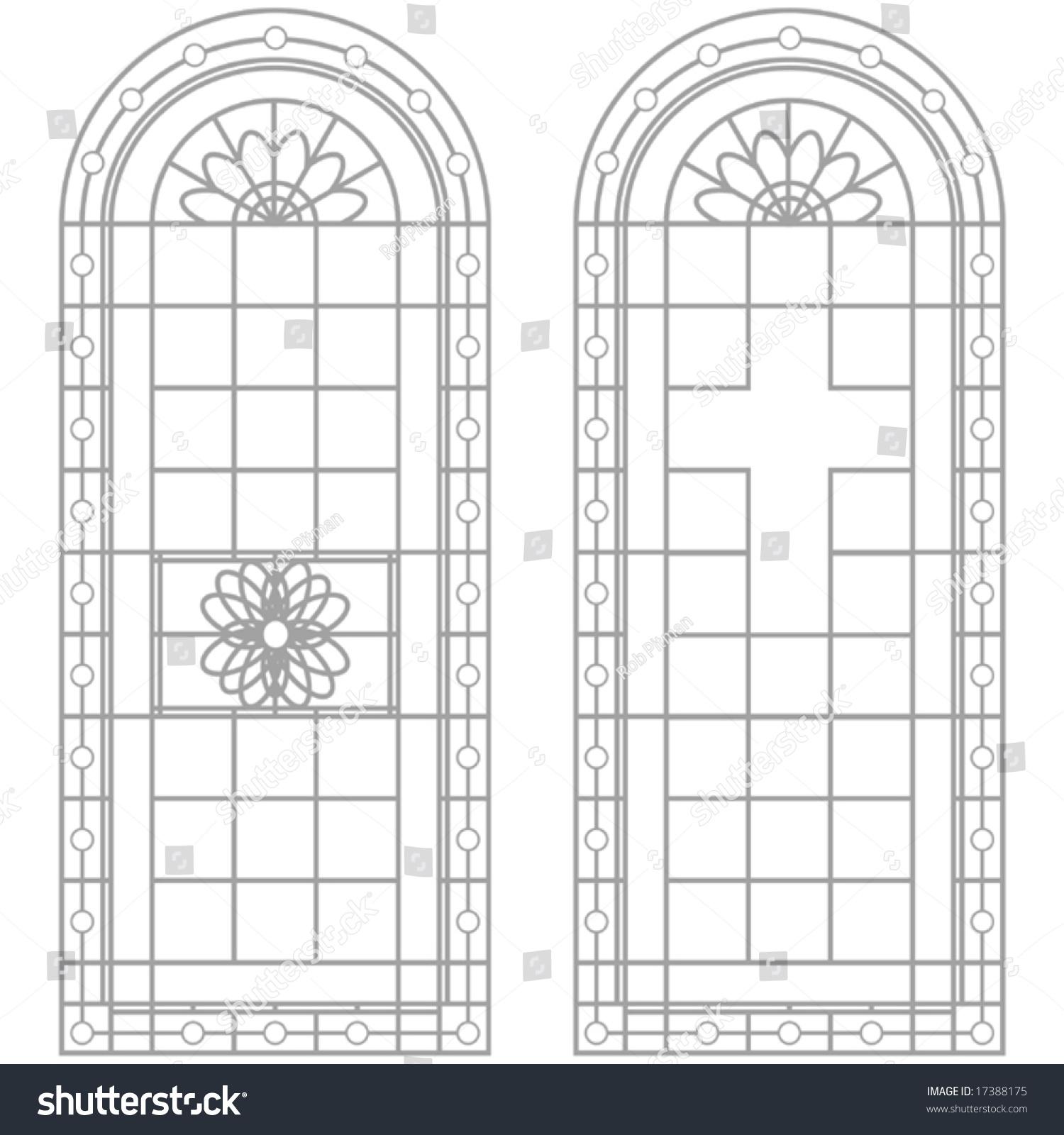 Vector window designs stock vector 17388175 shutterstock for Window design vector