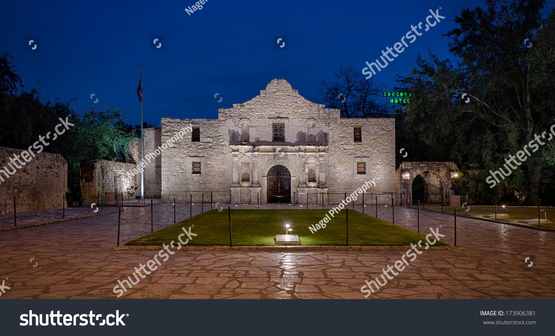 San Antonio Texas January 7 The Alamo Originally