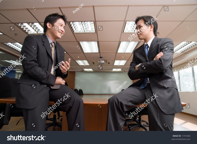 Asian men conference