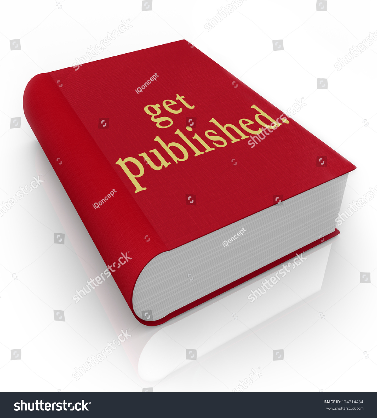 Get Book Cover Images From : Get published book cover new author writer stock photo