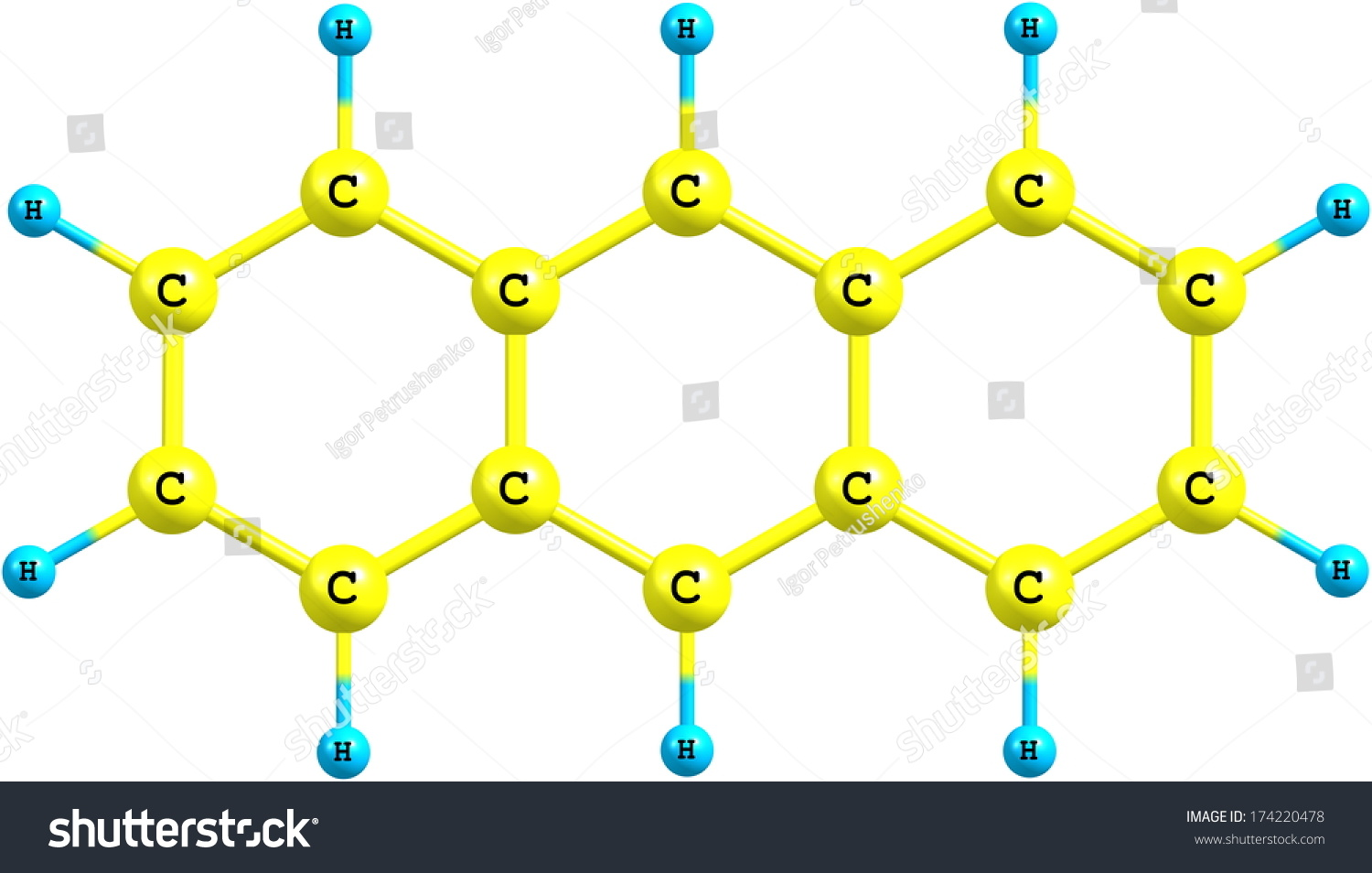 Anthracene Is A Solid Polycyclic Aromatic Hydrocarbon Of ...