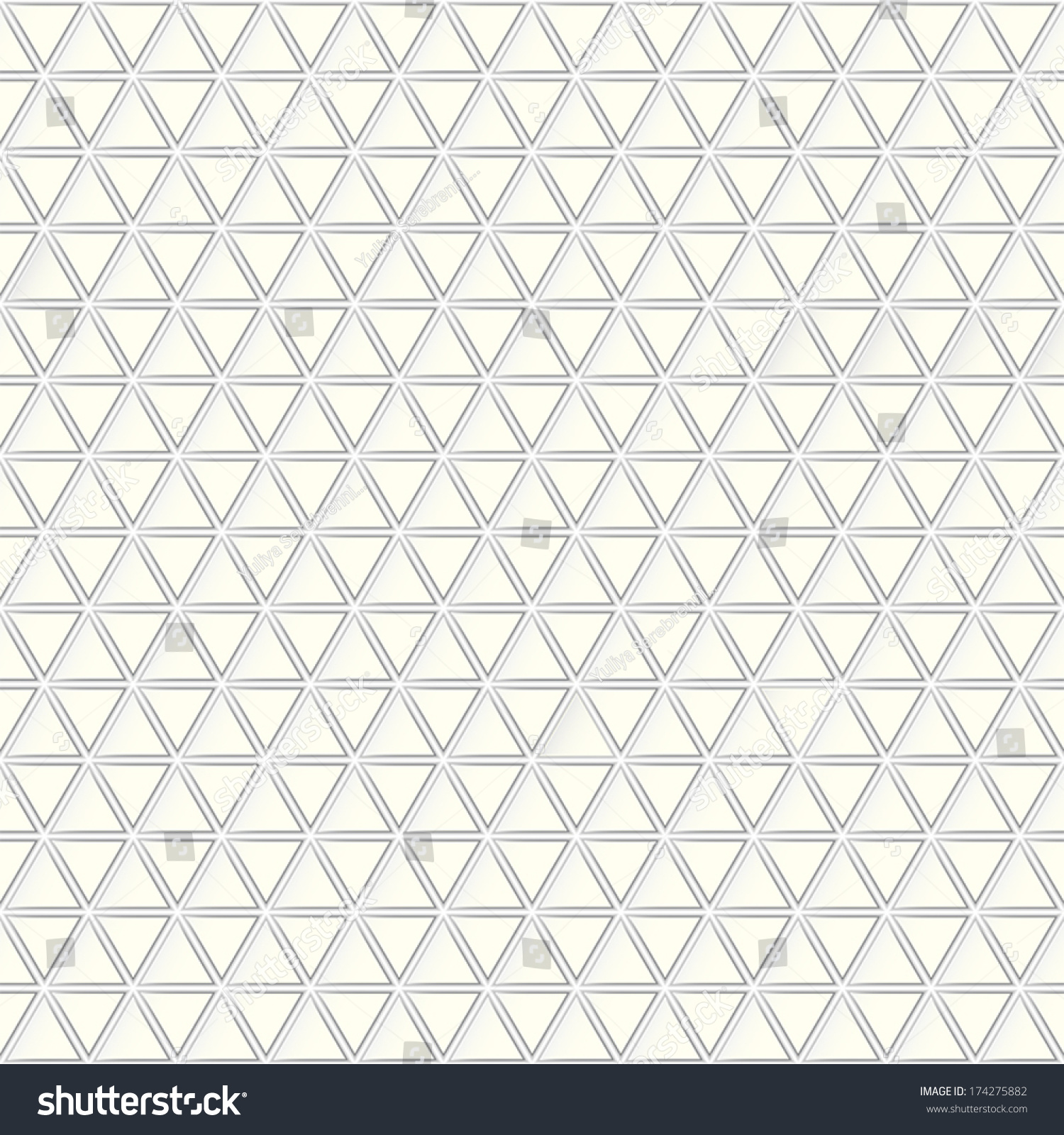 Geometric Pattern Texture Triangle Stock Vector 174275882 ...