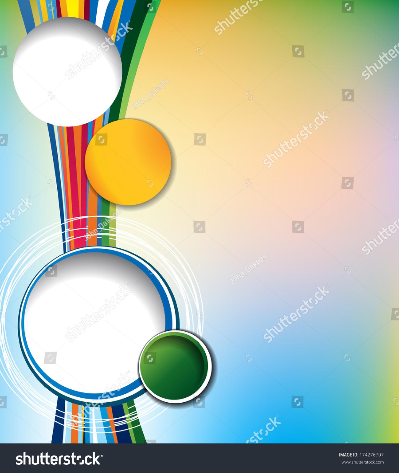 Brochure Design Content Background Design Layout Stock