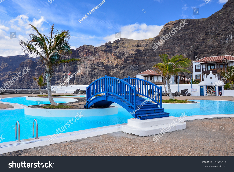 Public Swimming Pools Los Gigantes Tenerife Stock Photo 174333515 Shutterstock