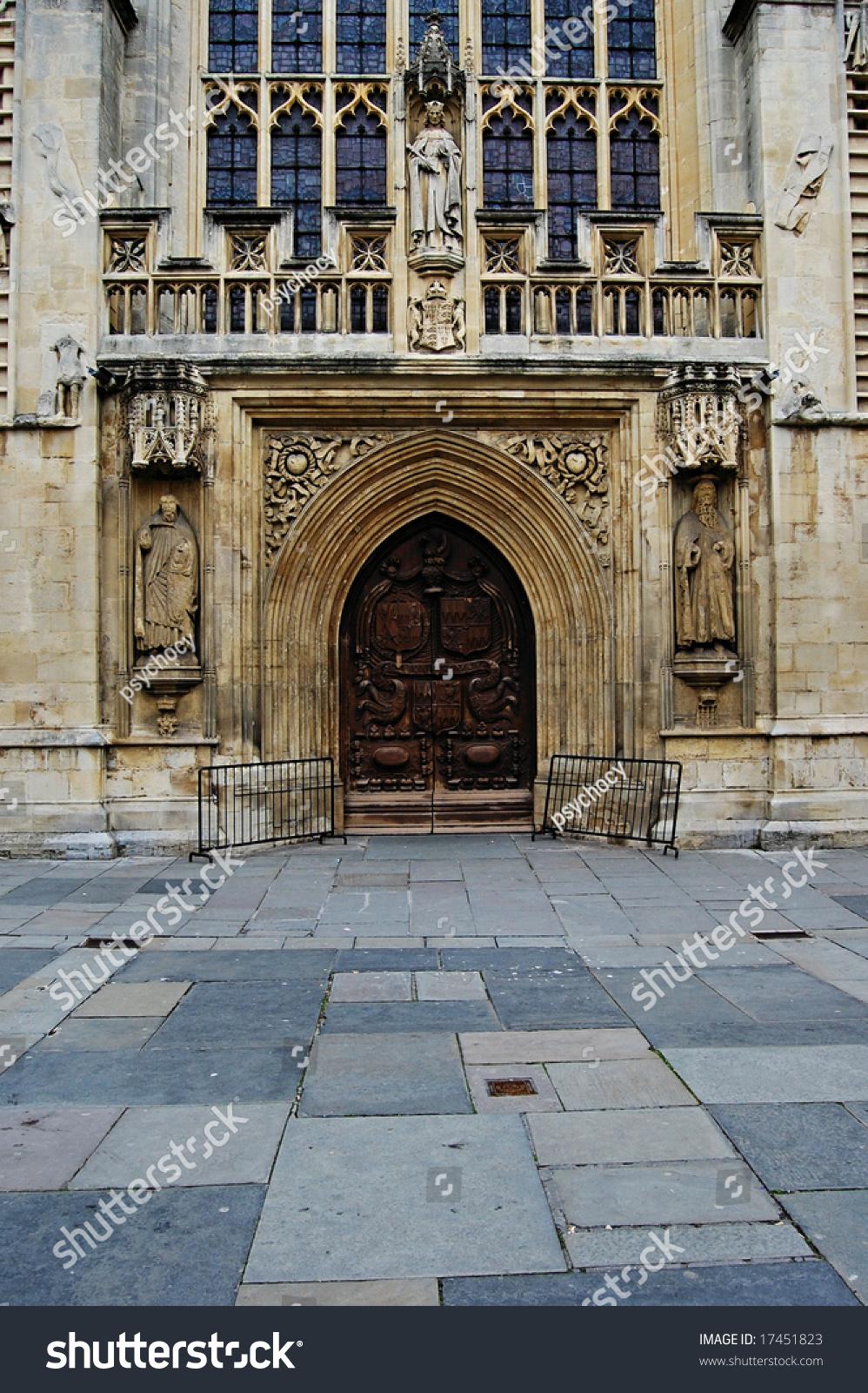 bath abbey doors & Bath Abbey Doors Stock Photo 17451823 - Shutterstock