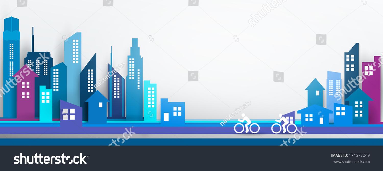 Vector Design Eps10 Building City Illustration Stock ...
