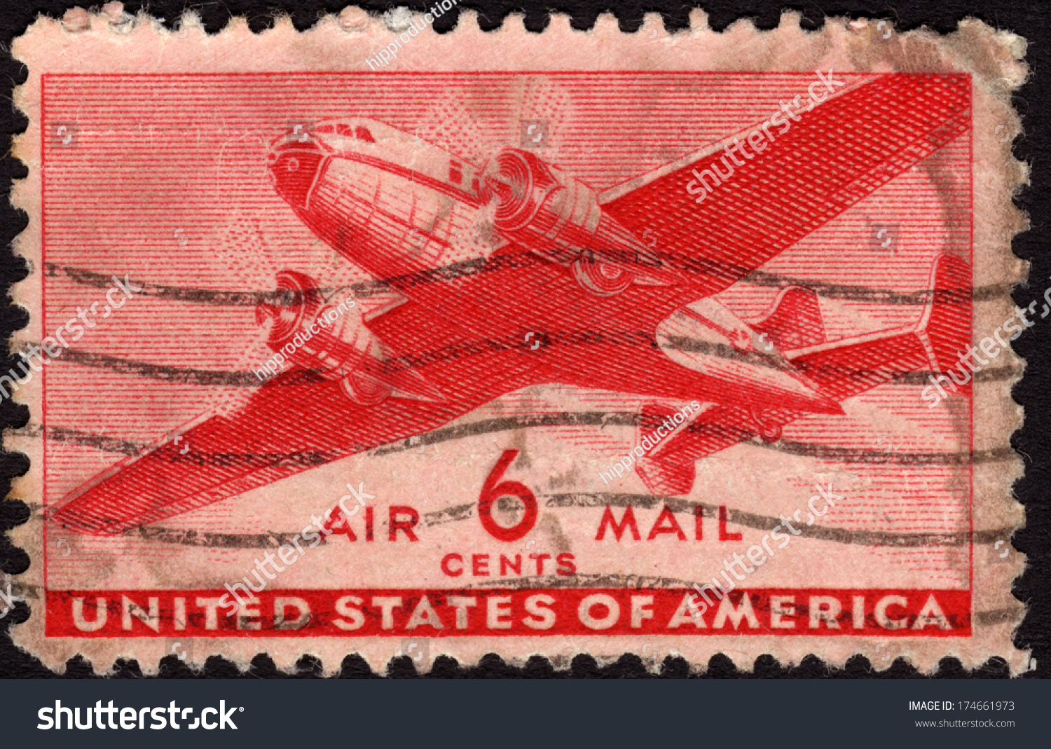 United States Postage Stamp In The Value