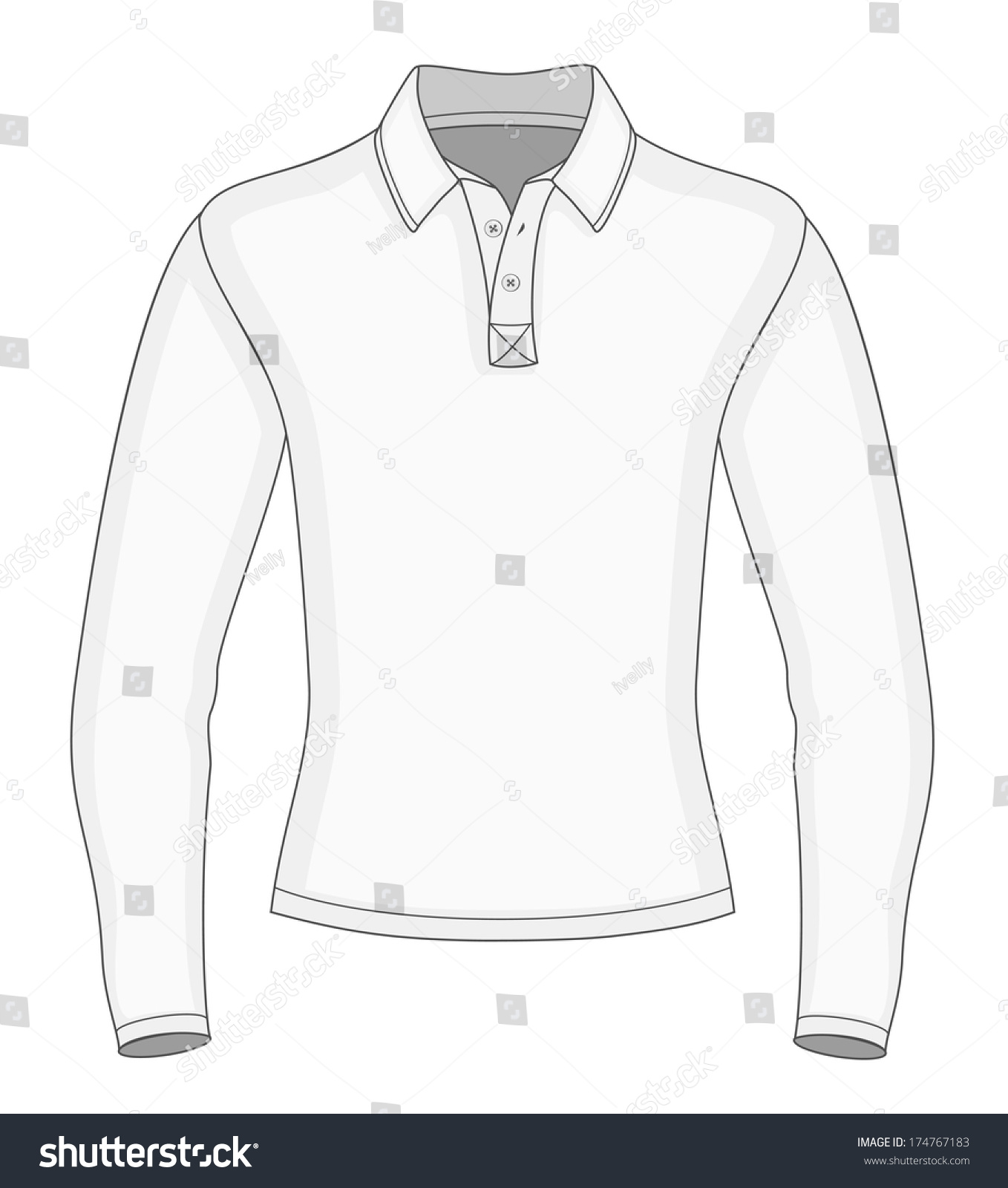 Polo Shirt With Pocket Template | Lauren Goss