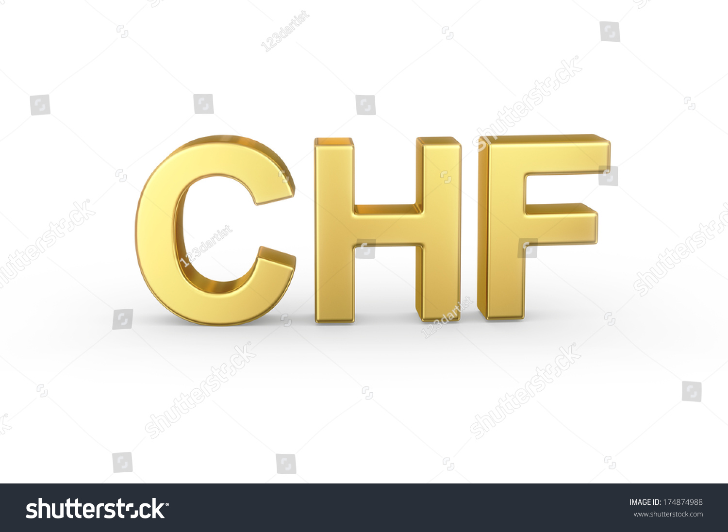 Golden 3d chf currency shortcut isolated stock illustration golden 3d chf currency shortcut isolated with clipping path buycottarizona Choice Image