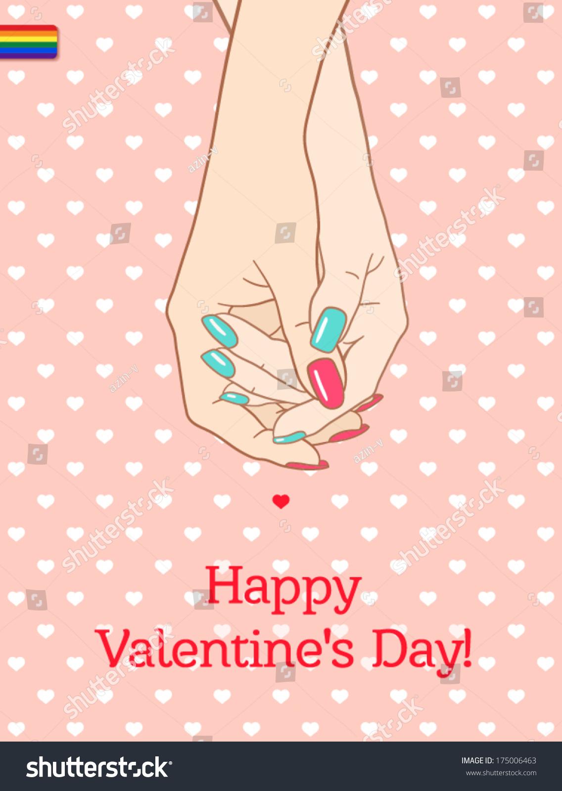 lesbian free valentine day Card