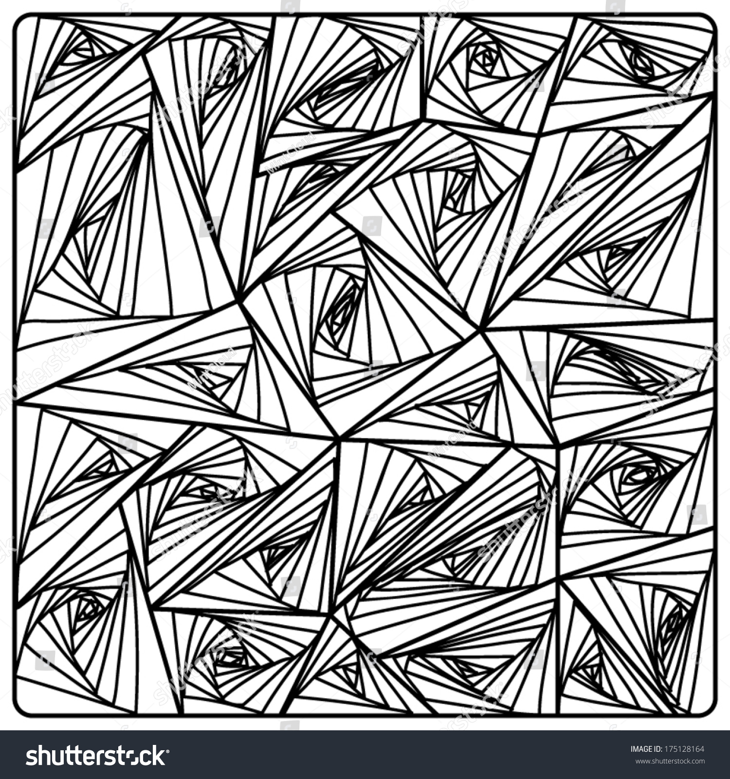 vector zentangle pattern black and white zentangle background