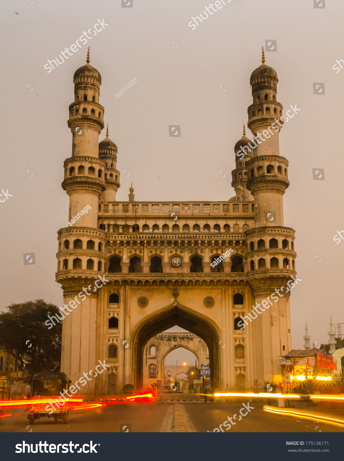 charminar the iconing building of the city of hyderabad