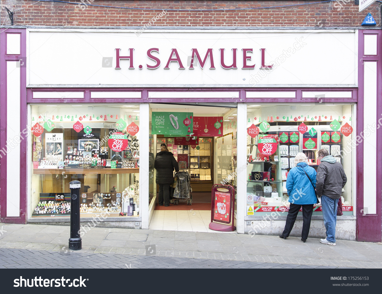 london december 14 branch h samuel stock photo 175256153