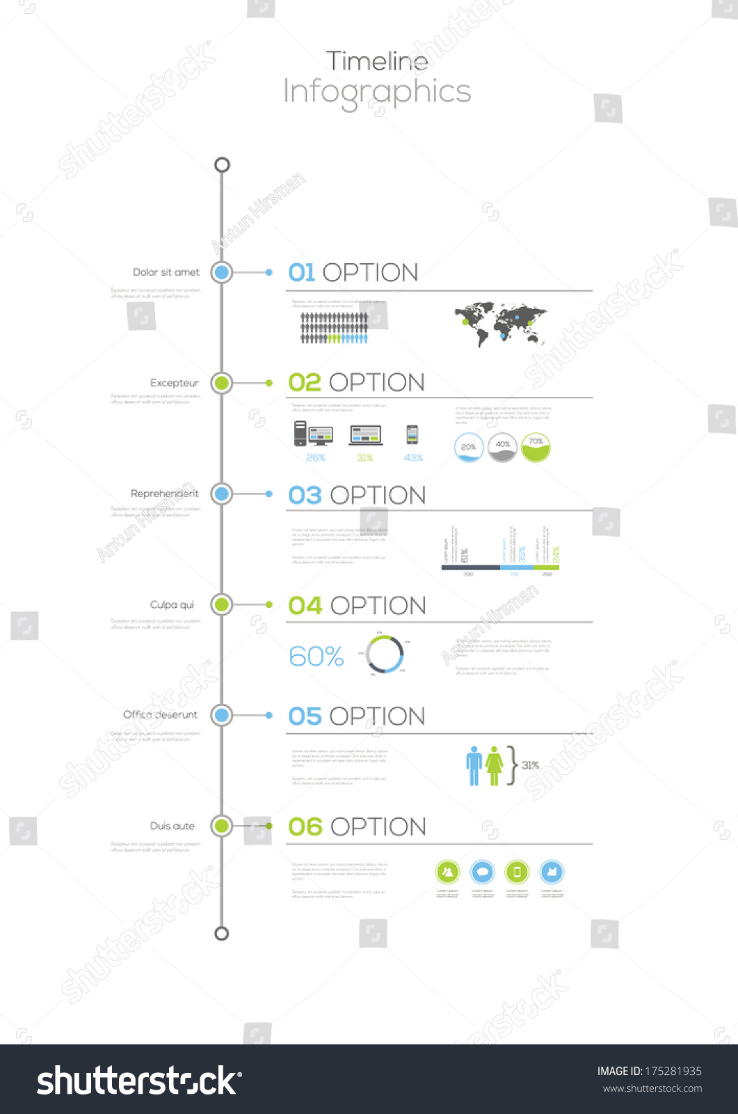 Timeline Infographic Vector Design Template Ez Canvas