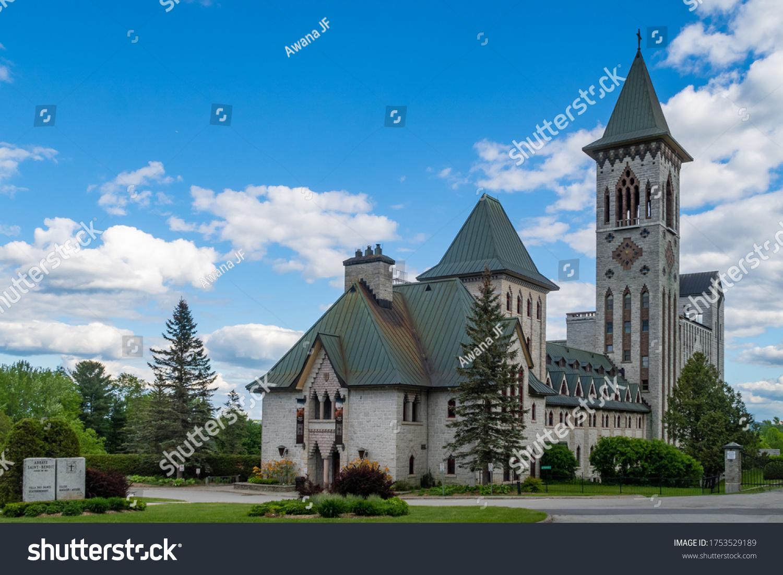 stock-photo-saint-benoit-du-lac-canada-j