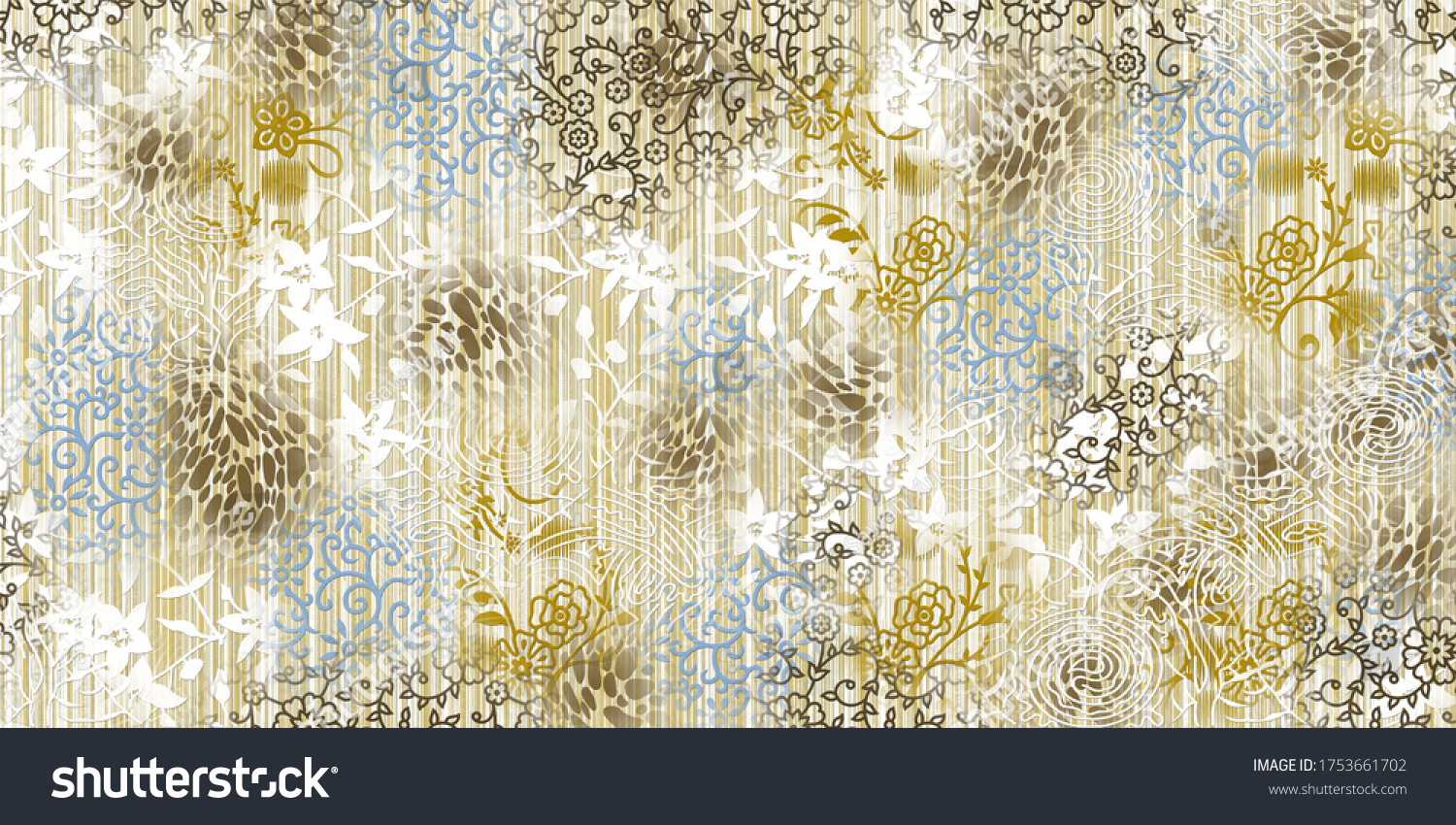 Art floral texture wall mural wallpaper with multi color, Matt Abstract Pattern Texture.