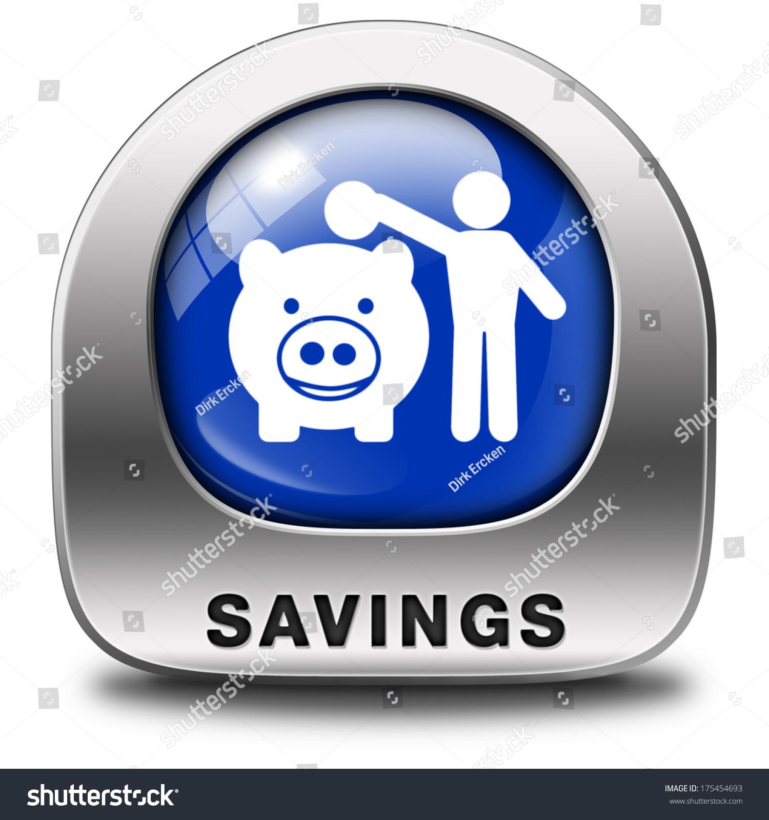 Save Money Button savi...