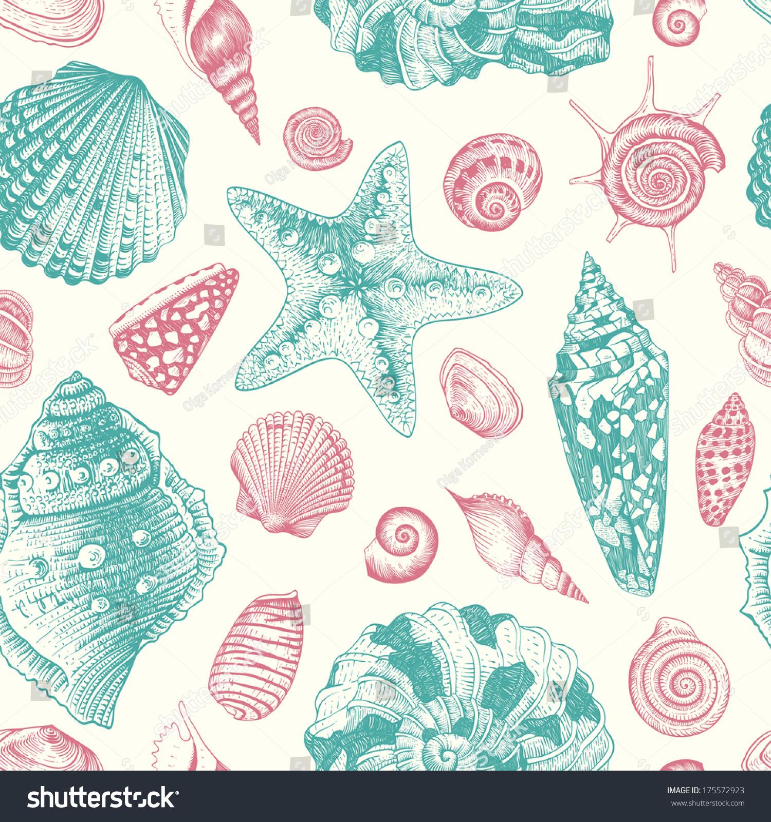 Vintage pastel pattern - photo#39