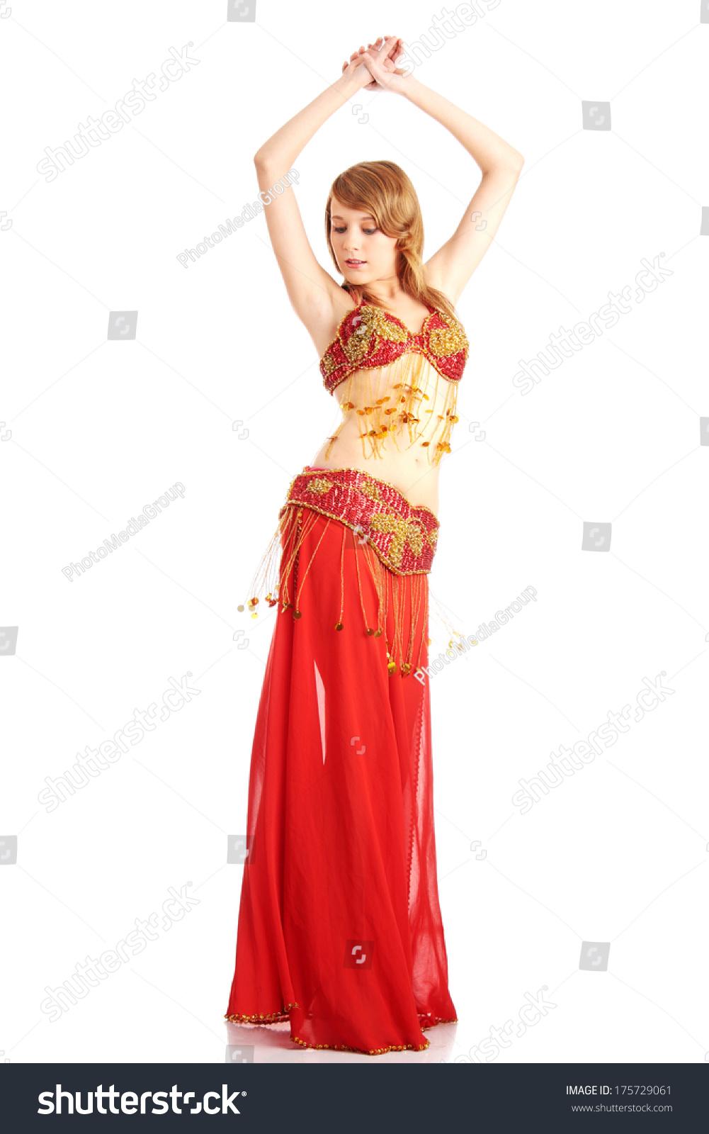 8717fce02e533 Teen girl in belly dancer costume… Stock Photo 175729061 - Avopix.com