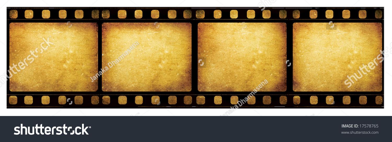 Old 35 Mm Movie Film Reel Stock Illustration 17578765 - Shutterstock
