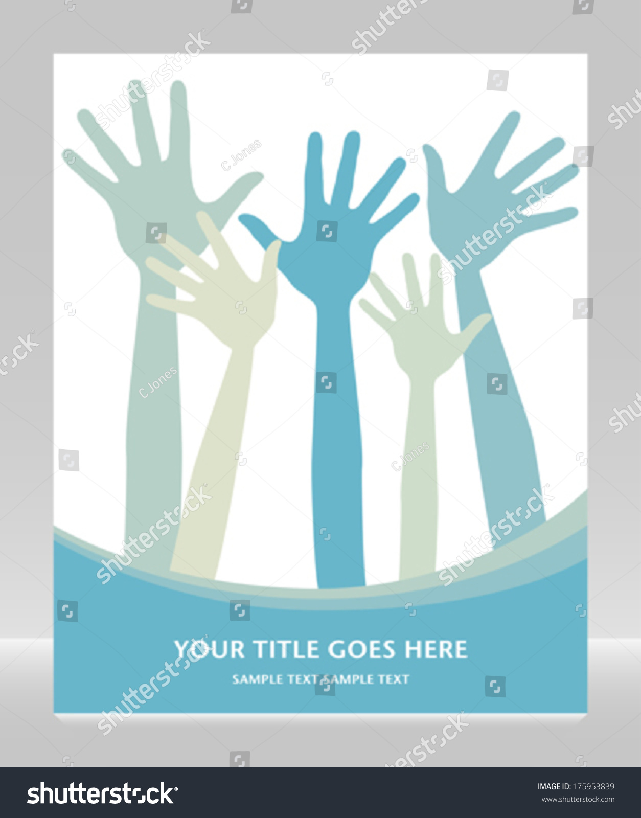 Hand design copy space stock vector 175953839 shutterstock for Copy design