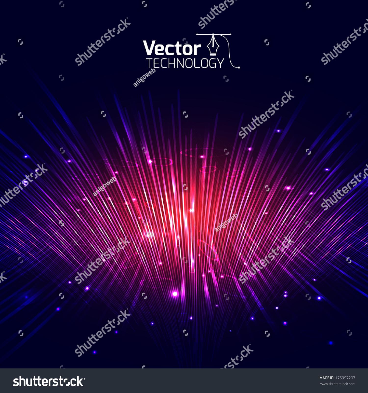 Vector Lines Equalizer 3d - 175997207 : Shutterstock