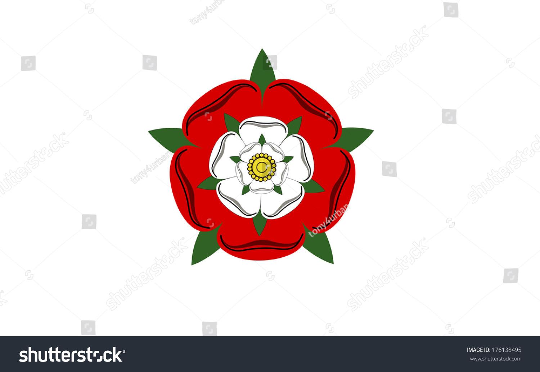 Tudor dynasty rose england country flag stock illustration tudor dynasty rose england country flag computer generated buycottarizona