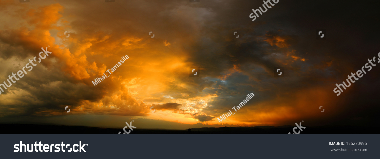 stock-photo-dramatic-sky-at-sunset-with-