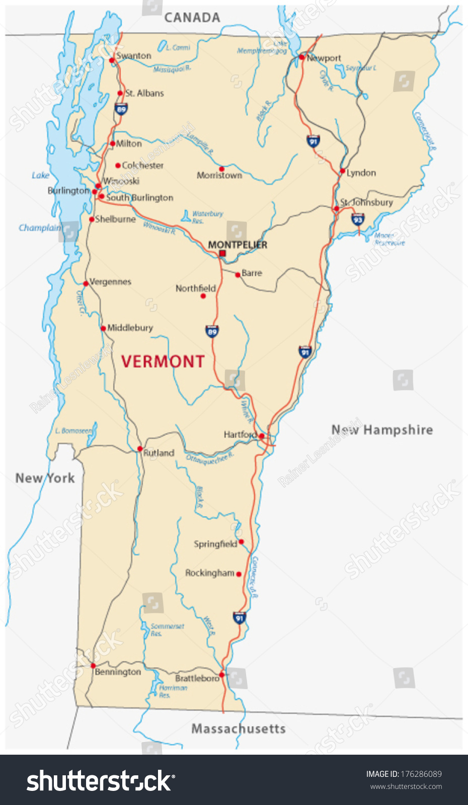 Vermont Road Map Images Road Map Of Vermont Vermont Road - Road map of vermont