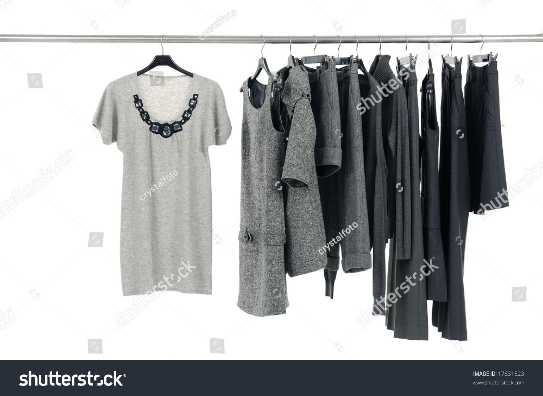Designer Fashion Clothing Hanging As Display Stock Photo 17631523  Shutterstock