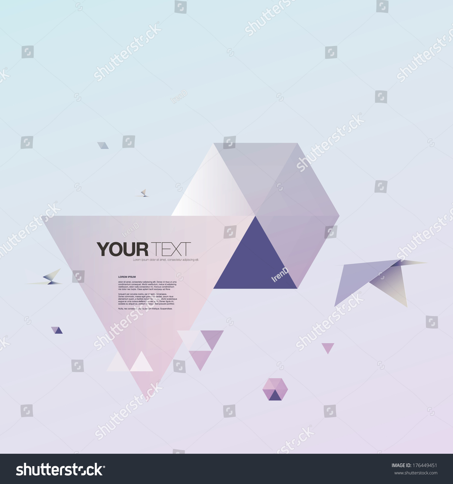 Abstract 3 D Origami World Bird Triangles Stock Vector Royalty Free 3d Diagram Download With And Design Eps 10 Illustration