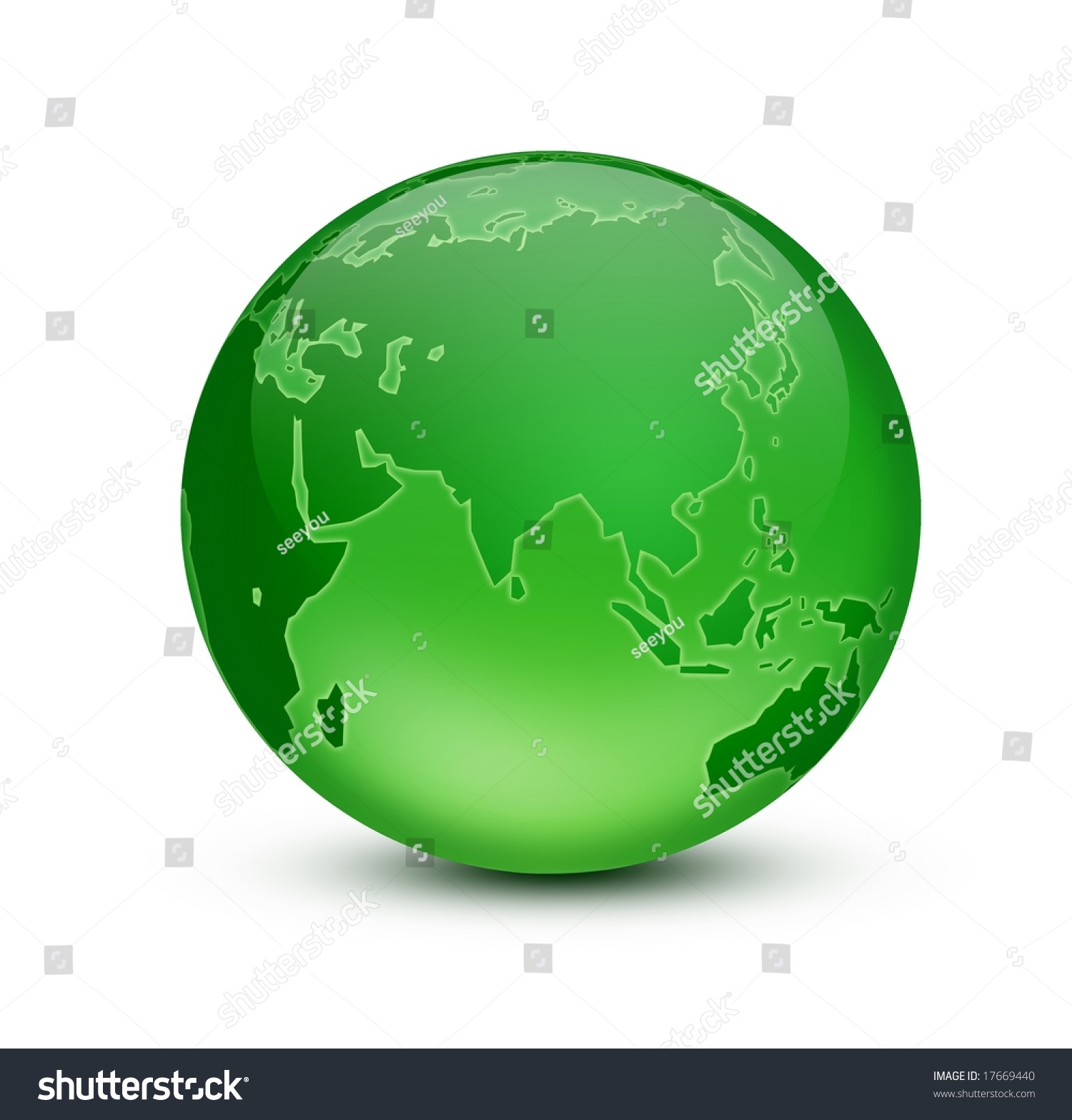 Green Earth Stock Photo 17669440 : Shutterstock