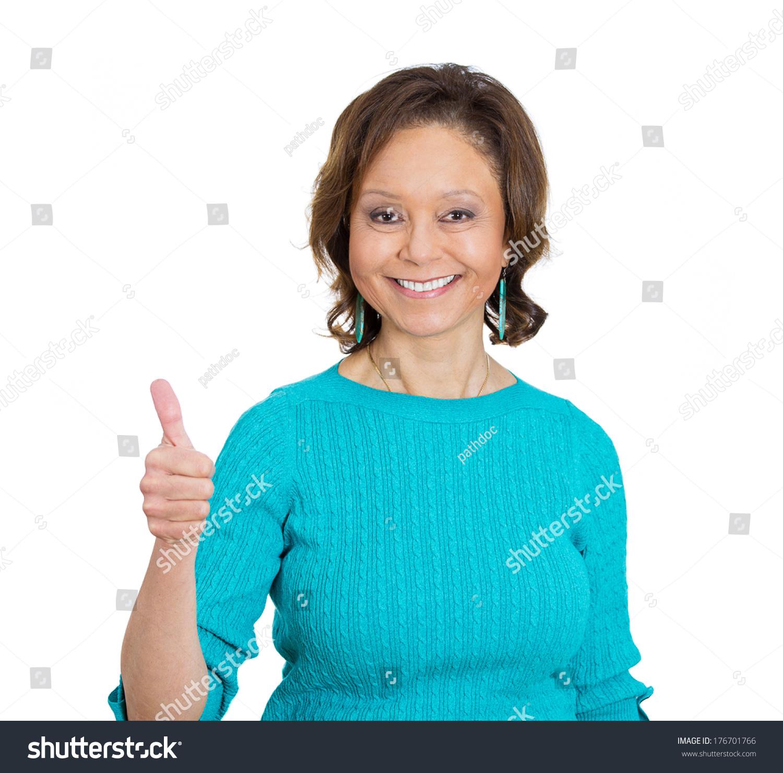 closeup portrait senior mature happy smiling stock photo (royalty