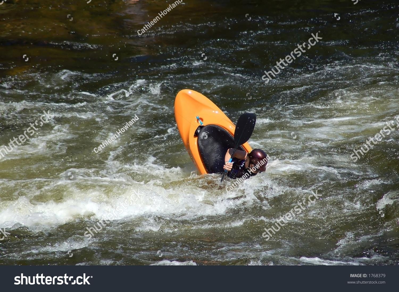 Kayaking Tricks Noise Ninja Used Logos Stock Photo (Edit Now