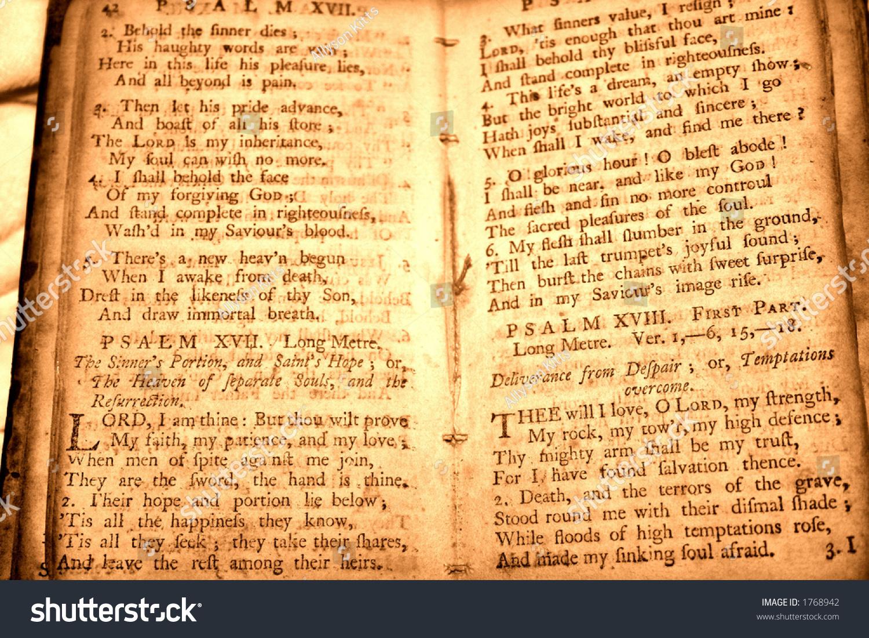 Bible Parchment Stock Photo (Edit Now) 1768942