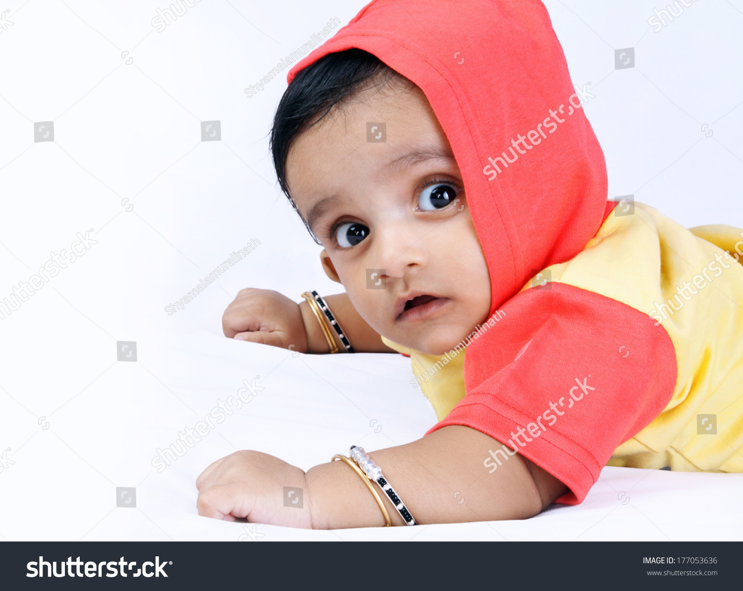indian cute baby looking camera stock photo (edit now) 177053636