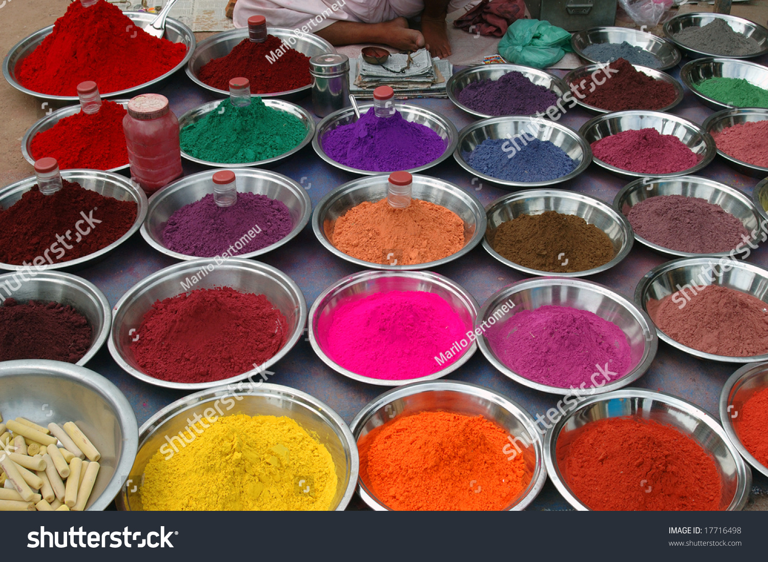 Natural Dyes Stock Photo 17716498 - Shutterstock