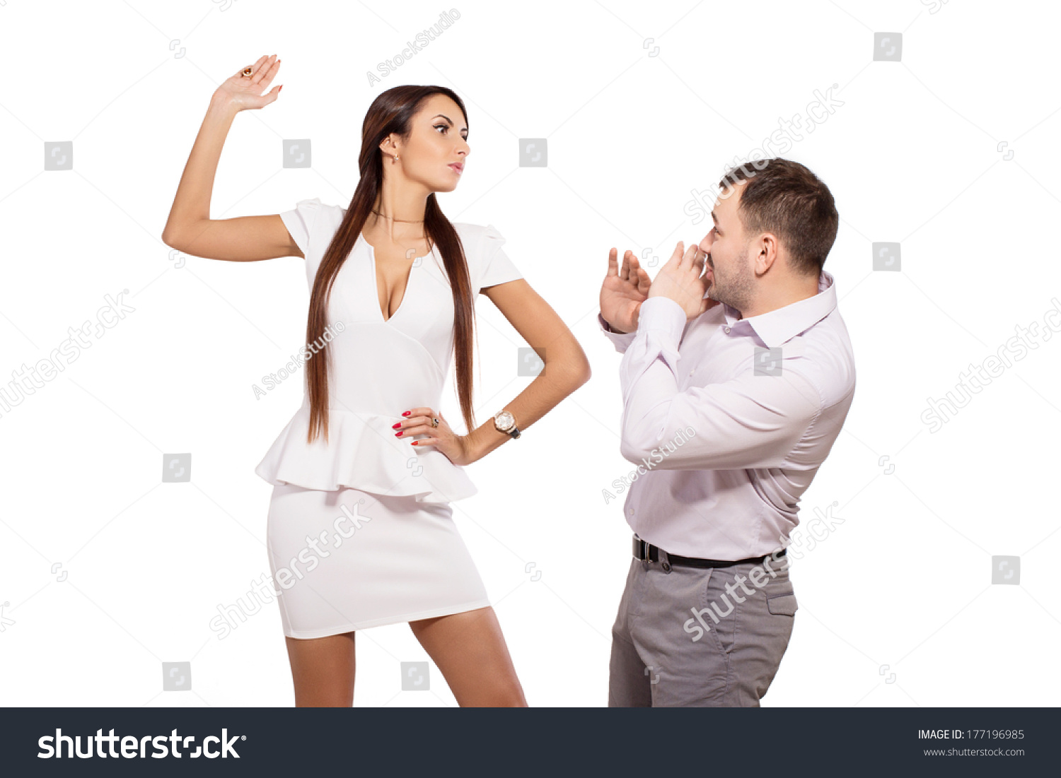 woman boss in relationship with the gym