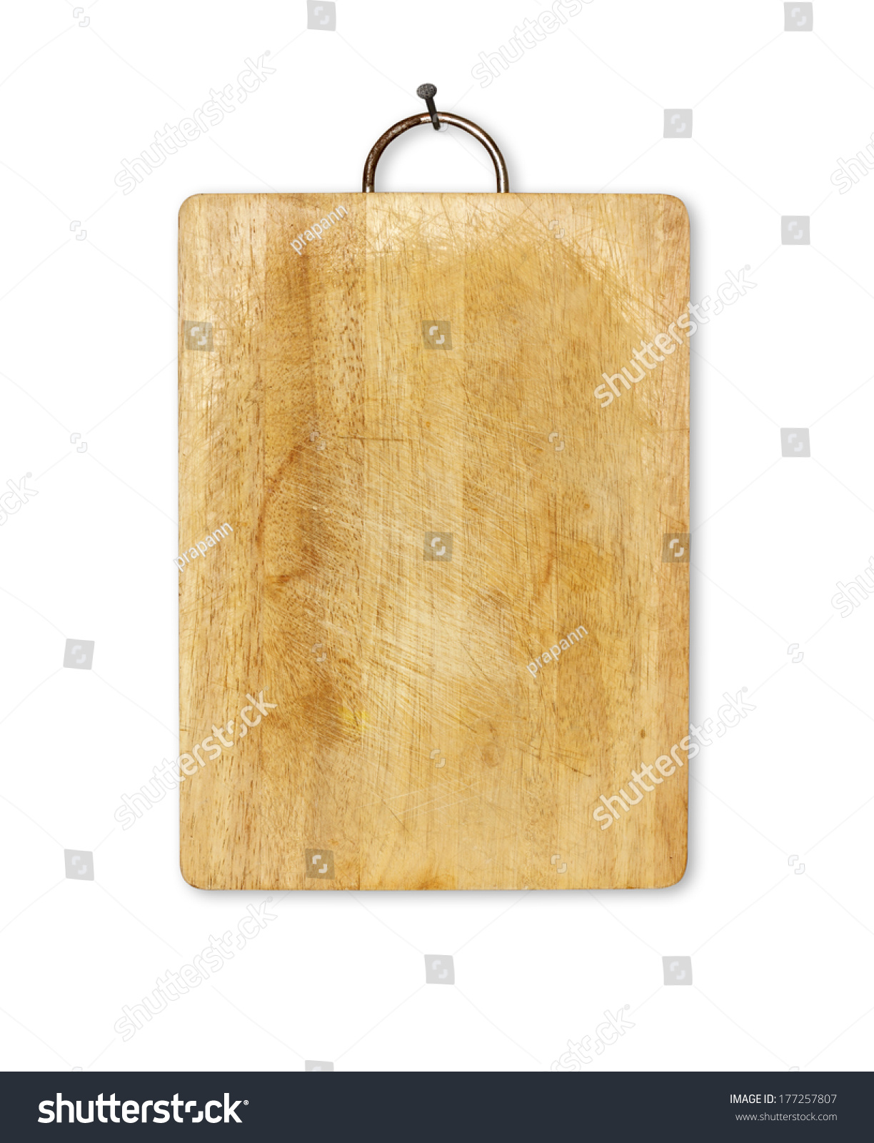 Old Cutting Boards Kitchen Hanging On Stock Photo Edit Now 177257807
