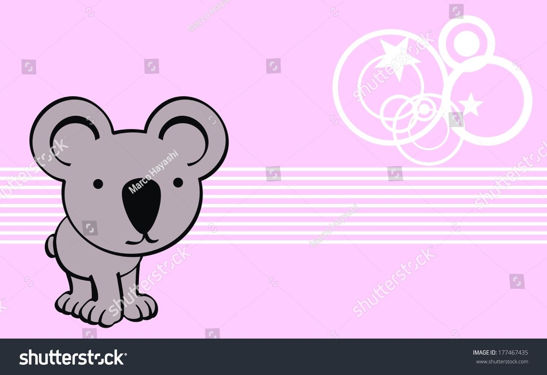 Download Wallpaper Koala Cartoon - stock-vector-koala-cute-baby-cartoon-wallpaper-in-vector-format-177467435  Picture_431142   .jpg