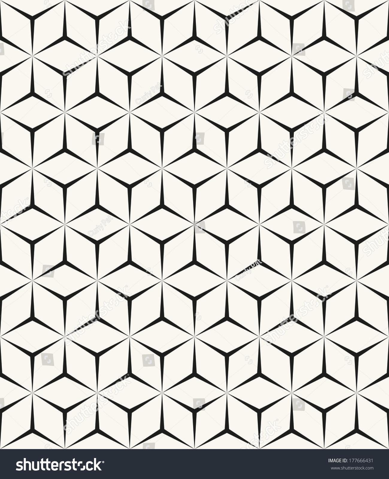 Aninimal Book: Seamless Geometric Pattern Geometric Simple Print Stock ...