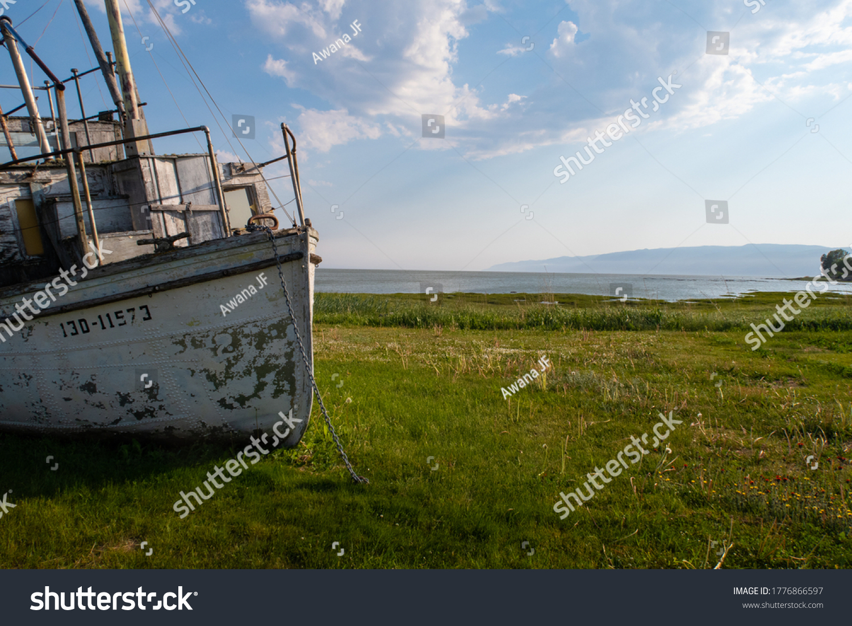 stock-photo-view-of-a-shipwrecked-fishin